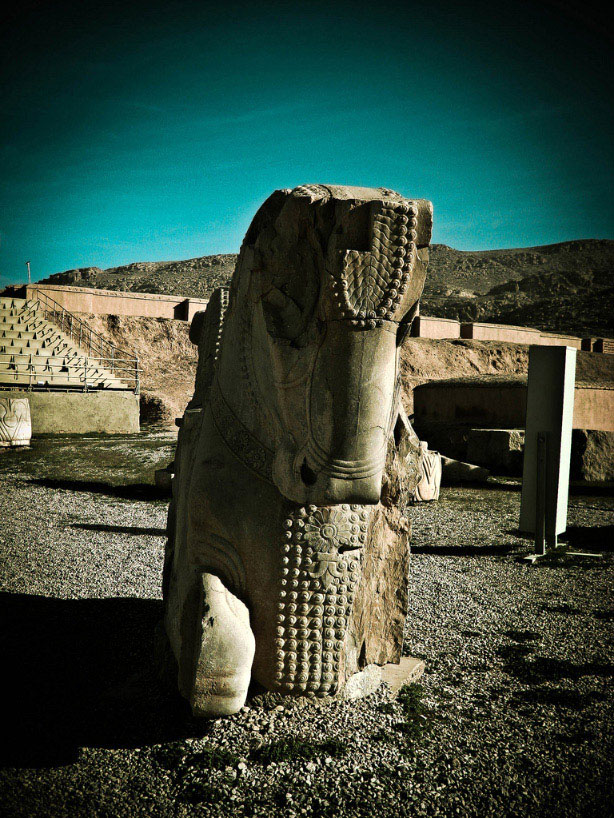 Ancient Persepolis The Ceremonial Capital Of The Persian Empire